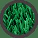 pasto sintetico de colores - verde pasto