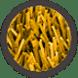 pasto sintetico de colores - amarillo