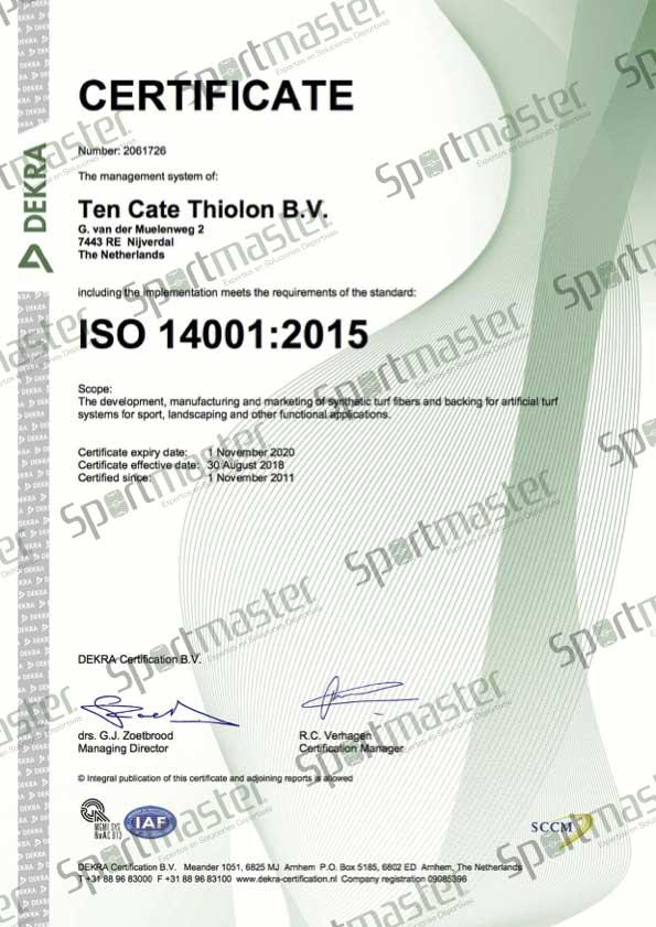 Pasto Sintetico ISO