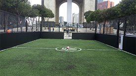cancha pasto sintetico - futbol