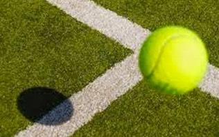 pasto sintetico - cancha de tenis